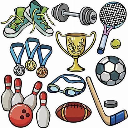 Sports Equipment Vector Clipart Icon Illustration Clip