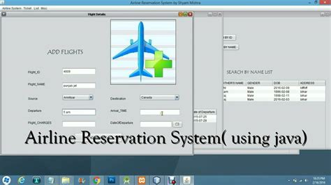 reservation siege airways airline reservation system java ctmasterminds in