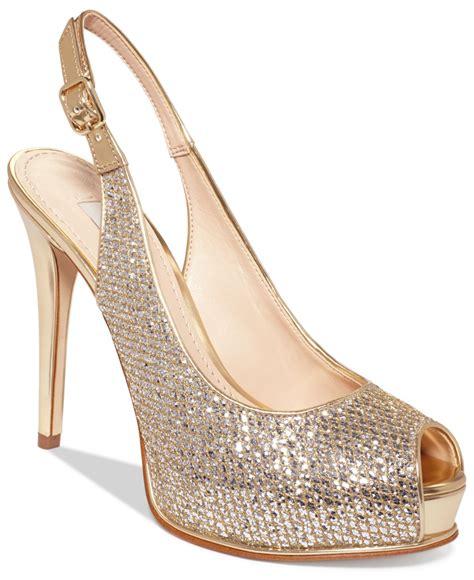 Guess 20563 Gold White guess damen footwear dress sandal riemchen pumps bianco