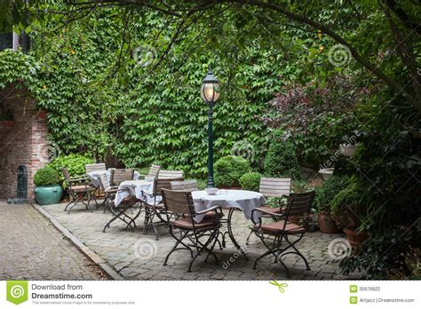 Small Cafe In Bruges, Belgium Stock Photo   Image: 35676822