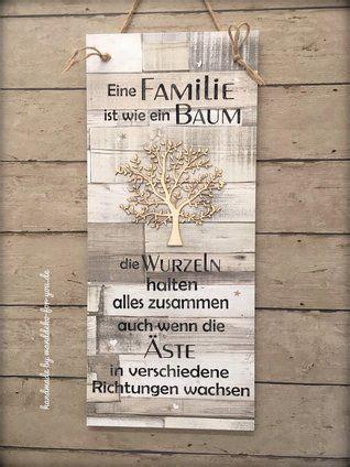 familie ist wie ein baum xxl   wooden signs