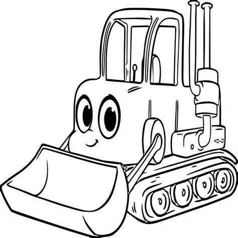 Click any coloring page to see a larger version and download it. Backhoe Coloring Page at GetColorings.com | Free printable ...