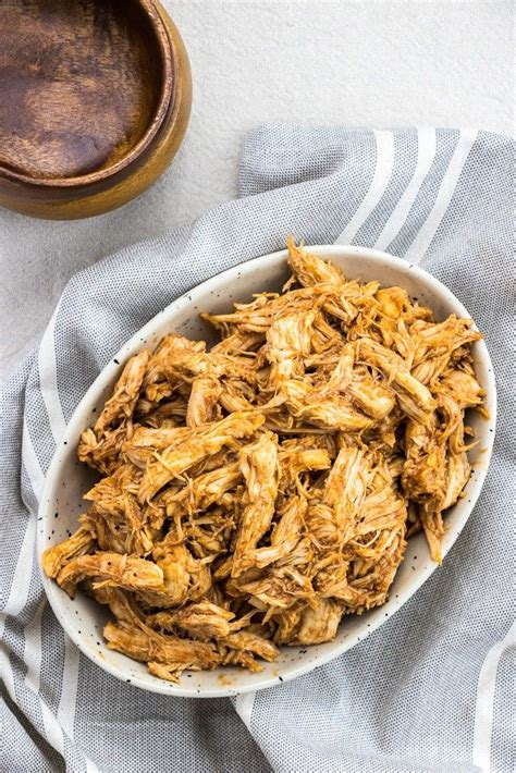 You can make everything from sandwiches and nachos to loaded add the bbq sauce and move the chicken around to get some sauce to the bottom of the pot. Instant Pot Pulled BBQ Chicken   Veronika's Kitchen ...
