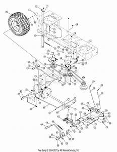 Mtd 13ax615h730  2007  Parts Diagram For Drive Assembly