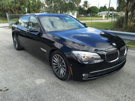 2009 Bmw 7 Series 750i Sport Pkg Salvage For Sale