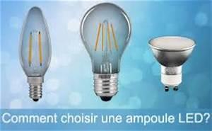Quelle Ampoule Led Choisir : comment choisir une ampoule led ~ Melissatoandfro.com Idées de Décoration