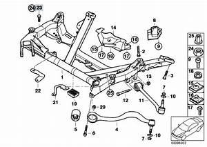 Original Parts For E39 525d M57 Touring    Front Axle