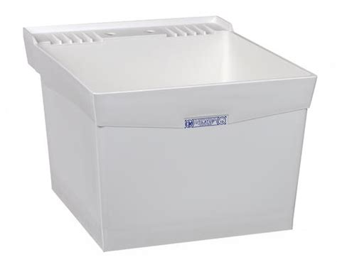 Menards Mustee Utility Sink by Mustee Utilatub 24 In X 20 In Structural Thermoplastic