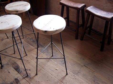 ls plus bar stools furniture black metal counter stool using brown wooden