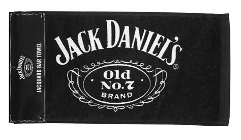 Jack Daniel's Licensed Barware Cartouche Bar Towel