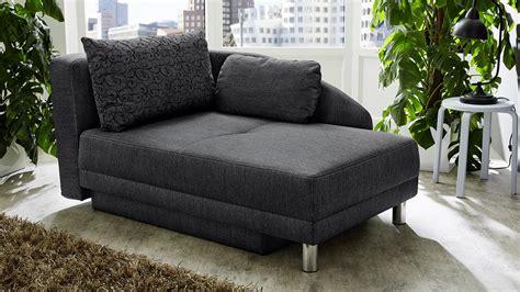 relaxliege mit schlaffunktion recamiere roy sofa funktionssofa anthrazit schlaffunktion bettkasten