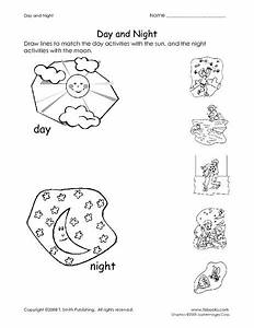 Day And Night Pictures For Kindergarten Day and night ...