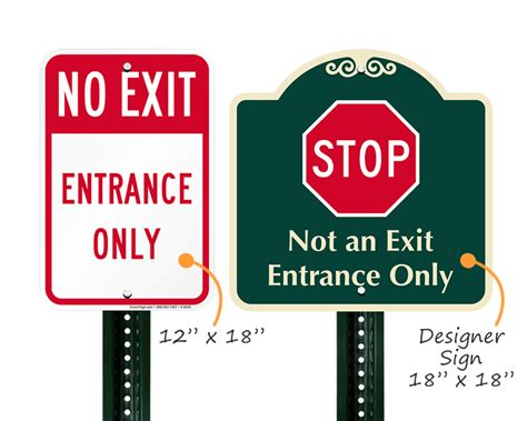 how to choose a front door no exit signs not an exit signs