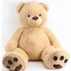 Ours En Peluche Xxl : peluche mega ours beige 1 metre 40 sam peluche geante 140 cm animal en peluche achat ~ Teatrodelosmanantiales.com Idées de Décoration