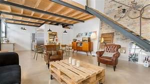 Renovation Hangar En Habitation : r novation grange c t maison ~ Nature-et-papiers.com Idées de Décoration