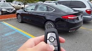 2017 Ford Fusion Titanium Remote Start Demonstration