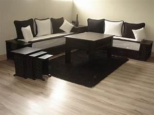 salon marocain canape moderne produits haut de gamme with With tapis oriental avec canapé en cuir blanc design