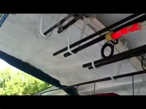 Boat Canopy Rod Holders by Rod Holder For Pontoon Boat