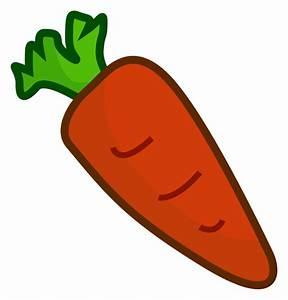 Free Cartoon Carrot 2 Clip Art