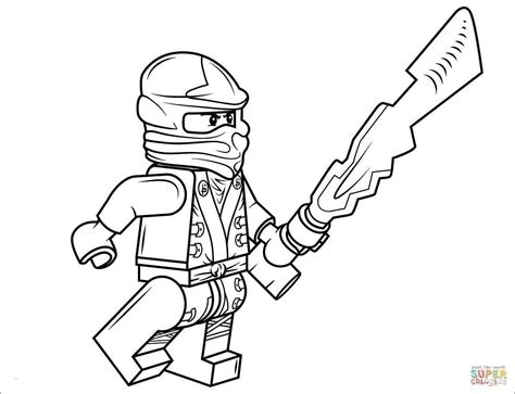 Lego Ninjago Ausmalbilder Zum Ausdrucken Image Zane