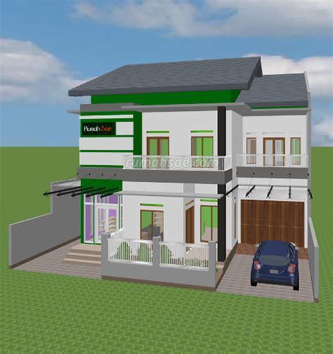 desain rumah islami toko rumah sae