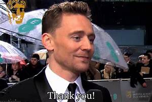 Tom Hiddleston Thank You GIF - Find & Share on GIPHY
