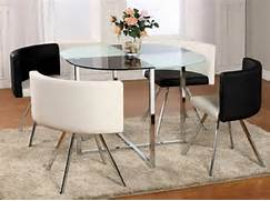 Dining Table Ideas For Small Spaces With Stainless Steel Table Legs Two Spaces In One Just Like This Small Dining Room Come Kitchen Dining Room Sets For Small Spaces Home Furniture Design Kitchen Pics Smart Design Idea For Small Kitchen Using Bright