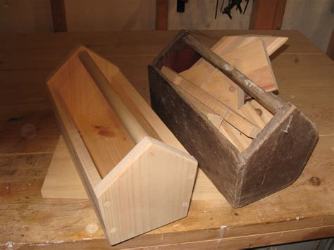 wooden tool box diy scrap lumber project
