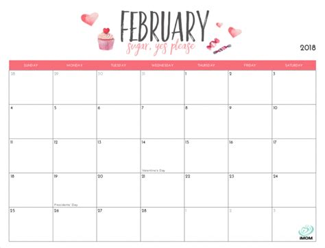 Printable calendar is a service that provides unlimited printable calendar templates in.rtf (rich text format), ready to print at the touch of a button. Cute Printable Calendar 2019