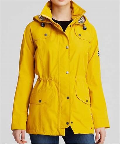Yellow Barbour Rain Jackets Anorak Coat Trevose