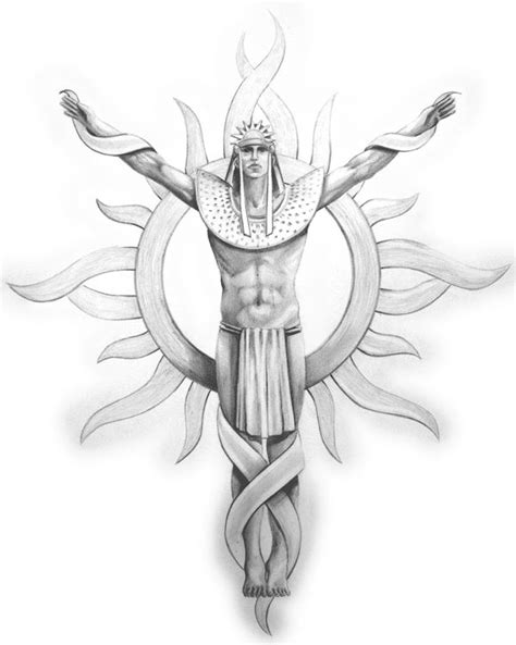 Aztec Sun And God Tattoo Design | Inca tattoo, Sun tattoo
