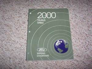 2000 Mercury Sable Electrical Wiring Diagram Manual Gs Ls