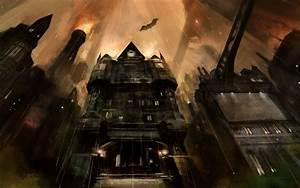 Information About Batman Arkham City Concept Art Wallpaper