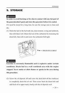 Manual De Instrucciones Generador Benza Br 60000