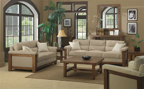 Wohnzimmer Bilder Braun Beige by Living Room In Beige Color