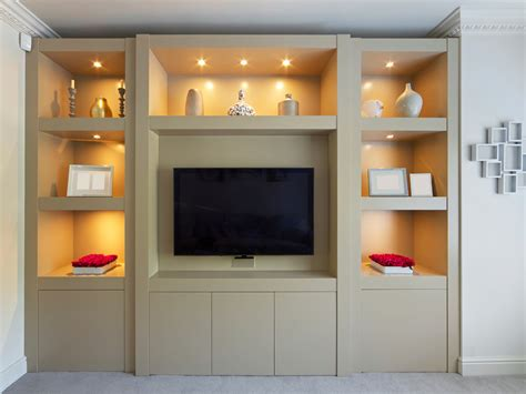 bedroom storage unit smooth modern built in display cabinet bespoke furniture