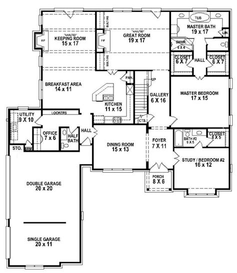 5 bedroom house 5 bedroom house plans floor plans for 5 bedroom homes