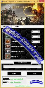 Lord Of The Rings Legends Of Middle Earth Cheats Http