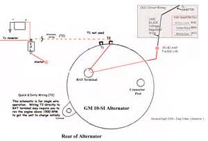 similiar gm alternator schematic keywords gm one wire alternator wiring diagram on wiring diagram for a delco