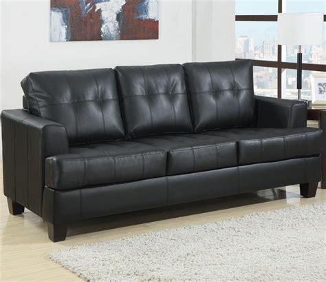 leather sectional sleeper sofa 1125 45 samuel black bonded leather sofa sleeper sofa