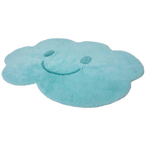 tapis chambre bébé bleu tapis enfant nimbus bleu