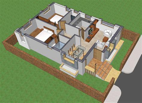 small house plan 1017 homeplansindia