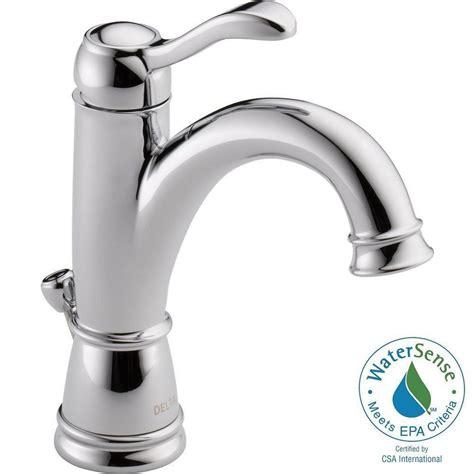 delta kitchen sink faucets delta porter single single handle high arc bathroom