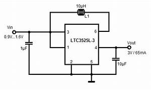 12 or 15v battery to 3 volts step up boost converter With el wire switch 5v