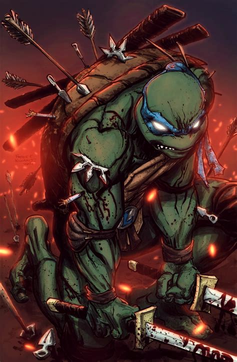 Leonardo TMNT by TiagoMontoia on DeviantArt