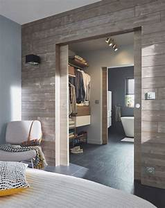 suite parentale avec salle de bain nos idees amenagement With porte d entrée alu avec salle de bain panneau mural
