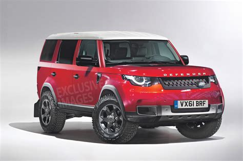 2018 Land Rover Defender Review, Redesign, Engine, Release