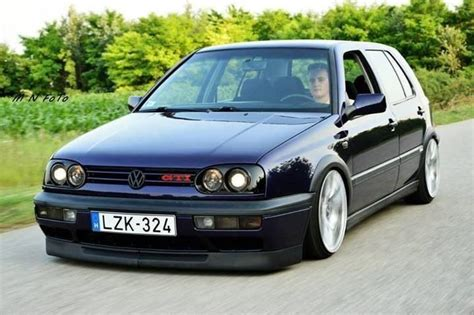 Vw Golf Mk3 Gti Stance Lowered