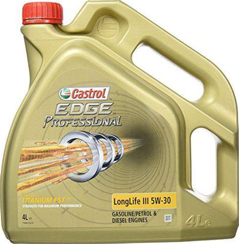 castrol 5w30 longlife 3 castrol edge professional longlife 3 5w 30 4 l kaufen