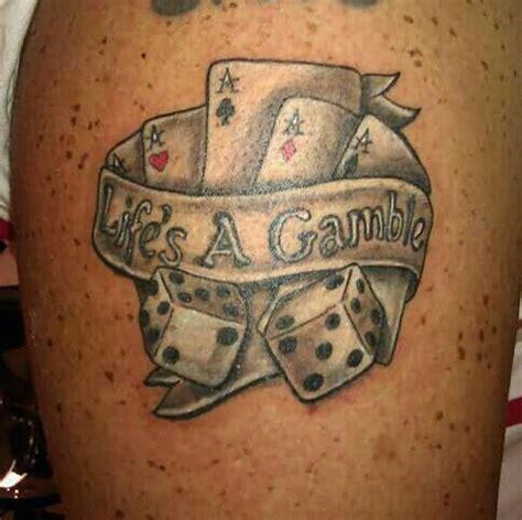 gambling tattoos designs ideas  meaning tattoos